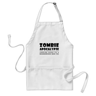 Apocalipse do zombi avental