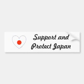 Apoie e proteja Japão Adesivo Para Carro
