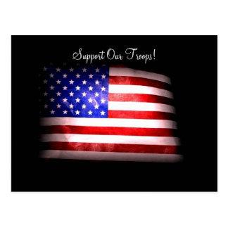 Apoie nosso cartão das tropas