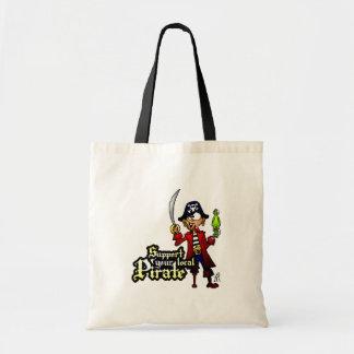 Apoie seu pirata local bolsa para compras