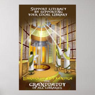 Apoie seu poster local da biblioteca