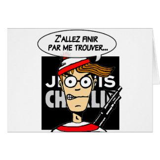 Apoio à Charlie Cartão Comemorativo