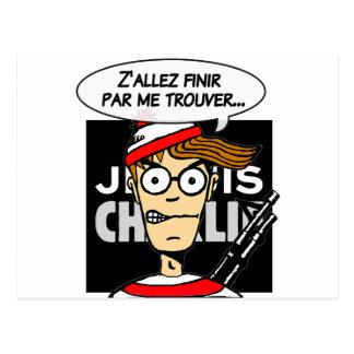 Apoio à Charlie Cartão Postal