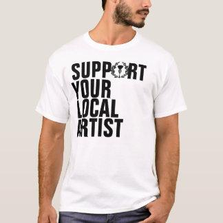 Apoio do grupo do ramo de Gunn seu artista local Camiseta