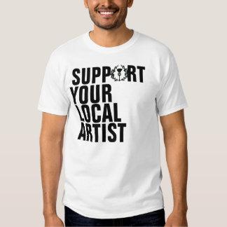 Apoio do grupo do ramo de Gunn seu artista local Tshirts
