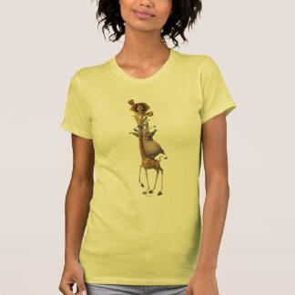 Apoio dos amigos de Madagascar Camisetas