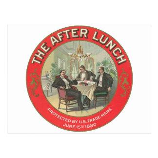Após o almoço cartão postal