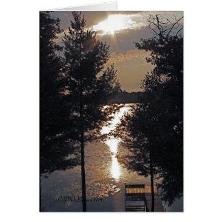 Após o cartão do nascer do sol