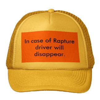 Após o chapéu do motorista do êxtase boné