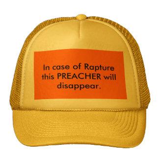 Após o chapéu do pregador do êxtase boné