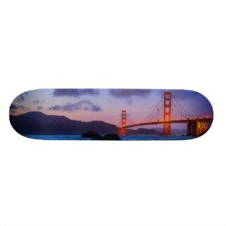 Após o por do sol para fora na praia do padeiro shape de skate 20cm