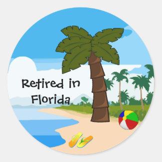 Aposentado em Florida Adesivo