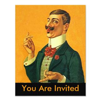 Aposentadoria Dapper afiada do convite de festas
