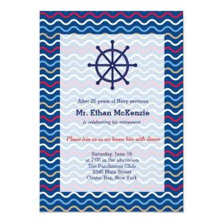 Aposentadoria do marinho convites