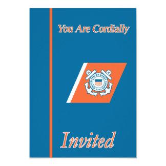 Aposentadoria do oficial de autorização principal convite 12.7 x 17.78cm