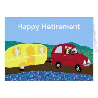 Aposentadoria feliz cartões