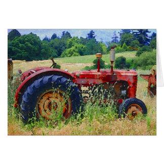 Aposentadoria rural cartão comemorativo