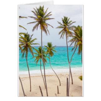 Aposentadoria tropical cartão comemorativo