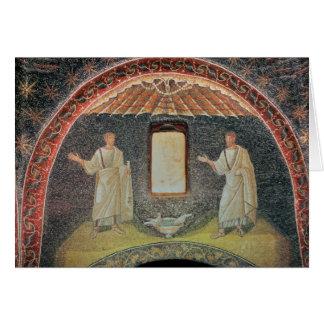 Apóstolos, século V (mosaico) Cartão Comemorativo