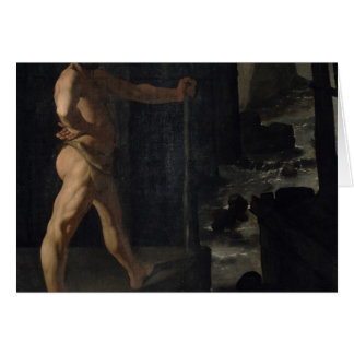 Apotheosis de Delacroix Cartão Comemorativo