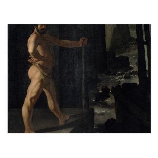 Apotheosis de Delacroix Cartão Postal