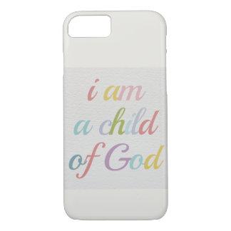 """Apple 8/7 de capa de telefone """"criança do deus """""""
