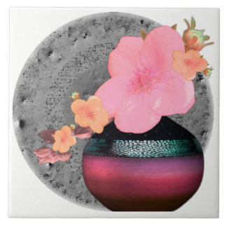 Apple cor-de-rosa floresce motivo floral