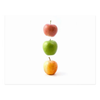 Apple cronometra cartao postal