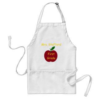 Apple do professor personalizado avental