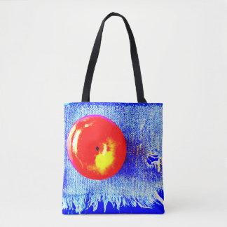 Apple e sacola de calças de ganga bolsa tote