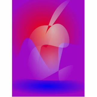 Apple estranho esculturafotos