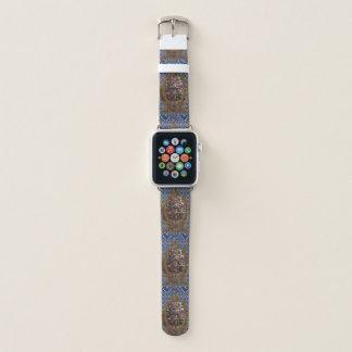 Apple olha os cristais de couro das jóias das
