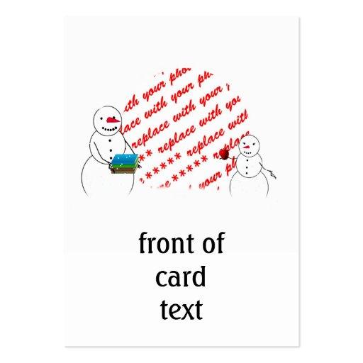 Apple para a foto do professor molda cartões de visitas