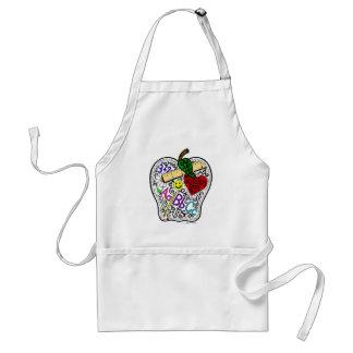 Apple para o professor avental