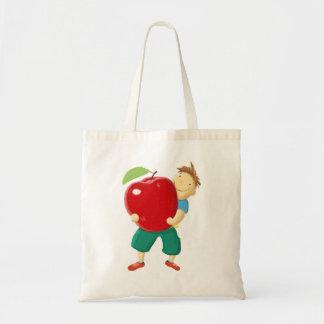 Apple para o professor sacola tote budget