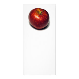 Apple vermelho 10.16 x 22.86cm panfleto