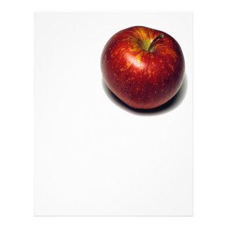 Apple vermelho modelo de panfleto