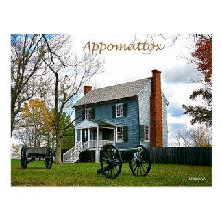 Appomattox espreita cartão da casa
