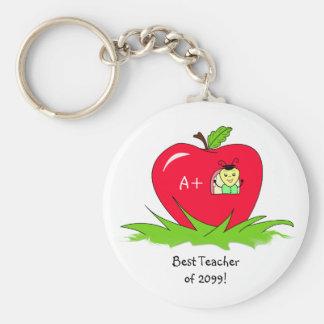 Apreciação Apple do professor para o melhor profes Chaveiro