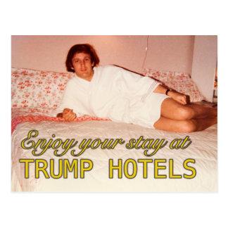 Aprecie sua estada no cartão dos hotéis do trunfo