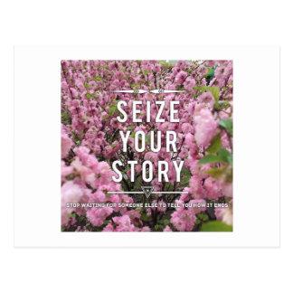 Apreenda seu cartão da história