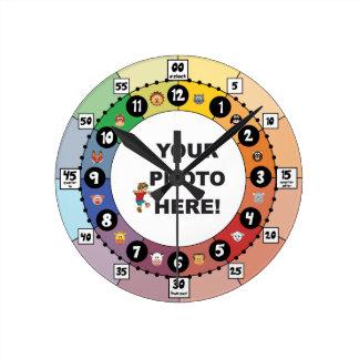 Aprenda dizer o relógio de ponto (pequeno, com