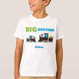 Aprendendo MENINOS personalizados trem do big Camisetas