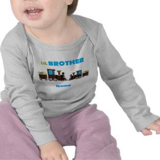 Aprendendo o trem do irmão de Lil dos doces Camisetas