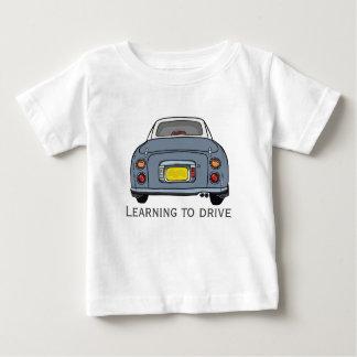 Aprender conduzir o bebê feito sob encomenda multa camiseta para bebê