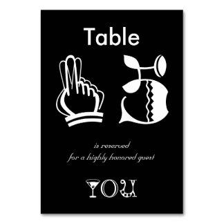 Apresente reservado para um convidado altamente