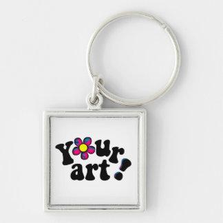Apresente SEUS próprios trabalhos artísticos origi Chaveiros