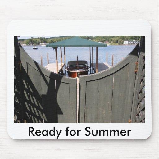 Apronte para o verão mouse pads