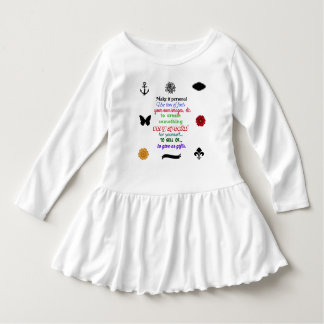 Apronte para personalizar o vestido do plissado da