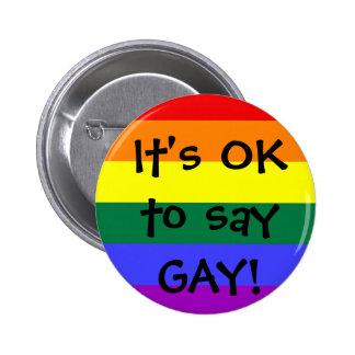 APROVADO dizer o GAY Boton